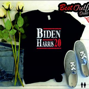 Biden Harris Ladies' Slouchy V-Neck T-Shirt