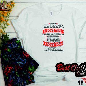 Love Husband Soulmate T Shirt