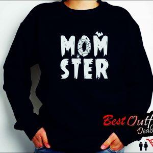 Momster Halloween Sweatshirt
