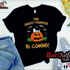 Peanuts-Great Pumpkin Believer T Shirt