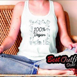Pure Vegan – World Vegetarian Day tang top