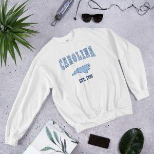 Vintage North Carolina Football Sweatshirt