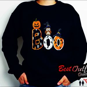 halloween boo owl Sweatshirt