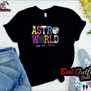 Travis Scott ASTROWORLD Merch T Shirt