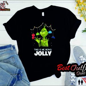 the grinch being jolly T-Shirt