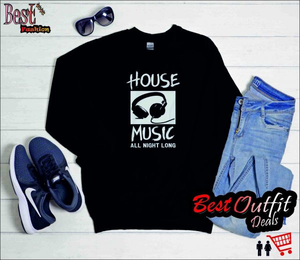 Dj House Music Sweatshirt