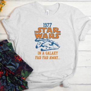1977 Star Wars In A Galaxy Far Far Away Men Women Graphic T-Shirt