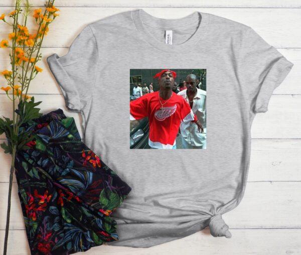 2pac spitting at camera T shirt