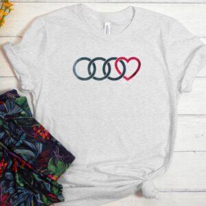 3 Audi Rings awesome Men Women Graphic T-Shirt