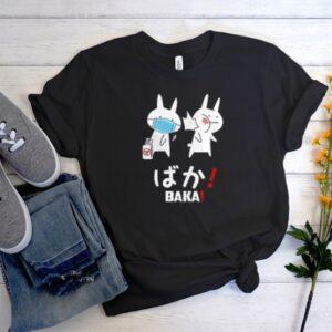 Anime Baka Rabbit Slap Mask Covid-19 DH T Shirt