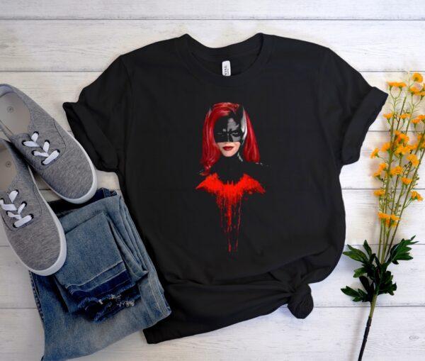 Batwoman Ruby Rose Kate Kane Superhero Batman Unisex Trending Graphic T-shirt