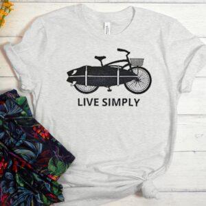 Beach Cruiser and Surf Board Unisex Trending Graphic T-Shirt