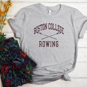 Boston College Rowing Jack Ryan T shirt