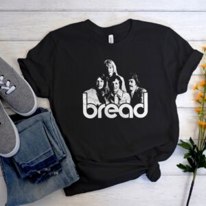 Bread Band smooth Unisex Trending Graphic T-Shirt