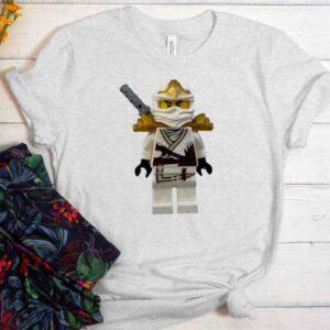 Zane White Ninjago Lego Unisex Trending Graphic T-Shirt