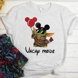 Baby Yoda Vacay Men Women Graphic shirt